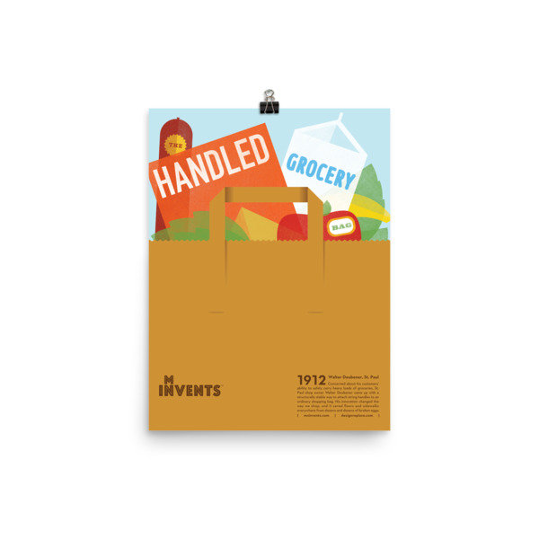 Handled Grocery Bag Poster