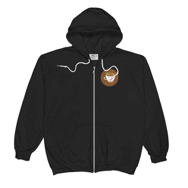 Pure Coffee Zip-Up