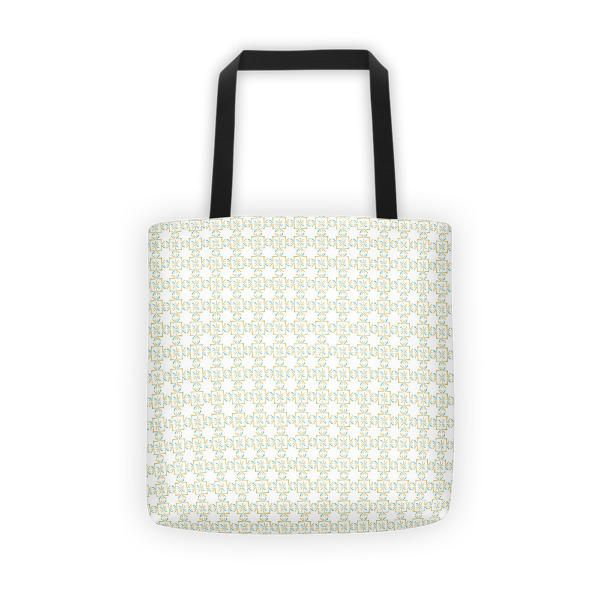 Asterisks Grid Tote