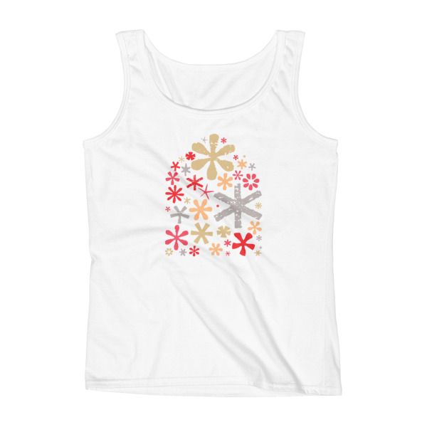 Asterisks Tank Women