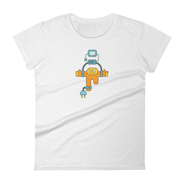 Process Locked Tee Women