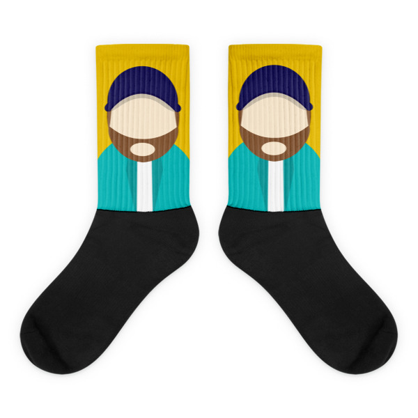 Anonymous Beard Socks