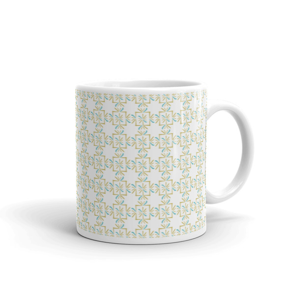 Asterisks Grid Mug