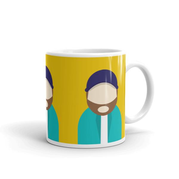 Anonymous Beard Mug