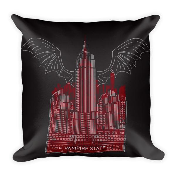 Vampire State Pillow