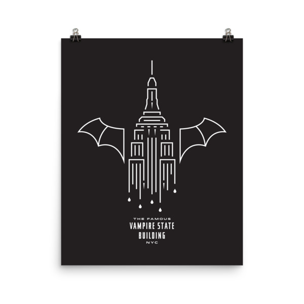 Dripping Fangs Poster