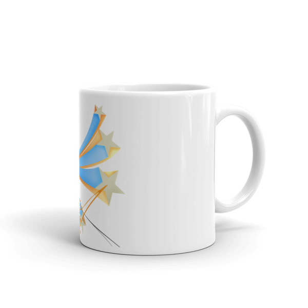 Jump Shot Mug Closeup