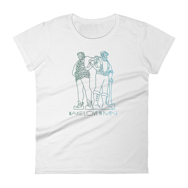 Make Love in MN Tee Women