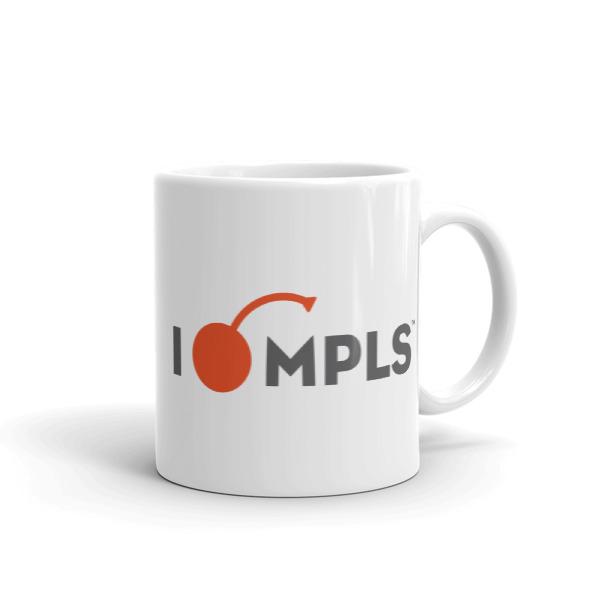 I Cherry MPLS Mug Wordmark