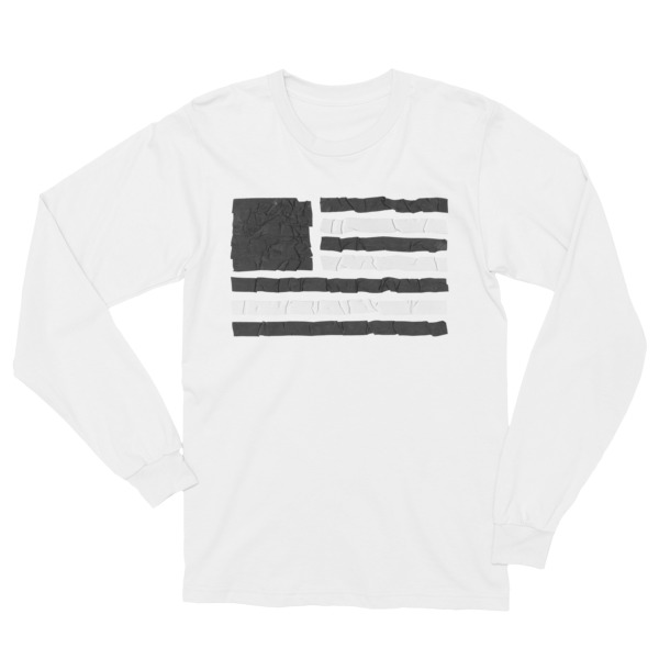 Old Time Hockey Shirt Longsleeve Tape Flag