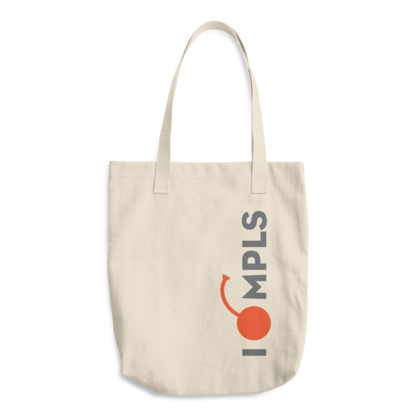 I Cherry MPLS Tote Vertical