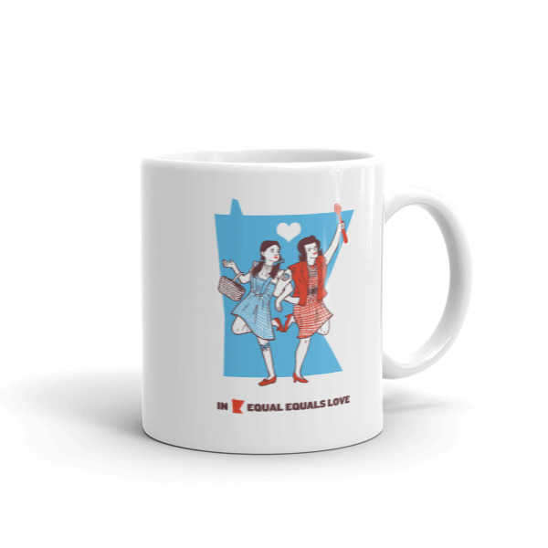 Equal Equals Love Mug Dorothy & Betty