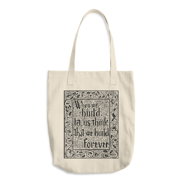 When We Build Tote
