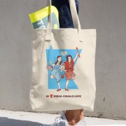 Equal Equals Love Tote Dorothy & Betty
