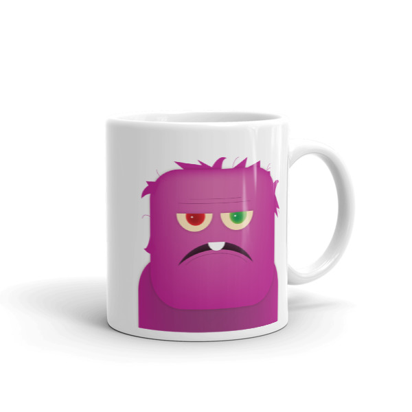 Purple People Eater Mug