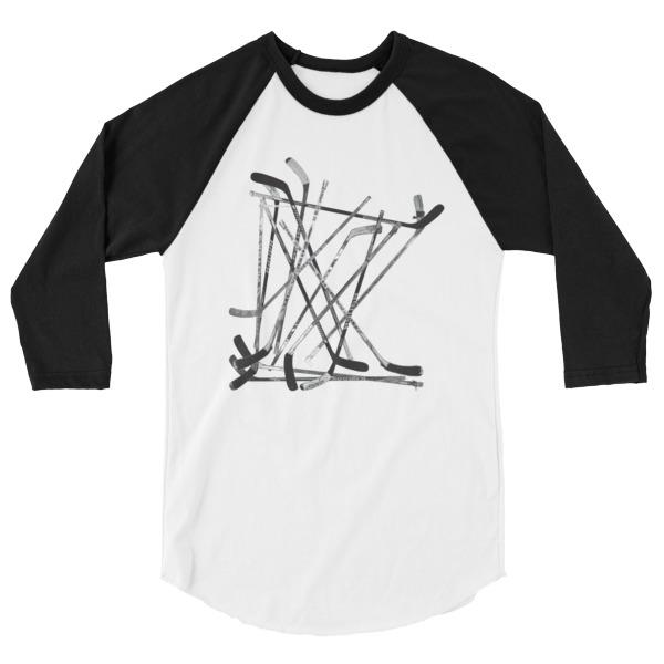 Old Time Hockey Shirt Longsleeve MN Sticks