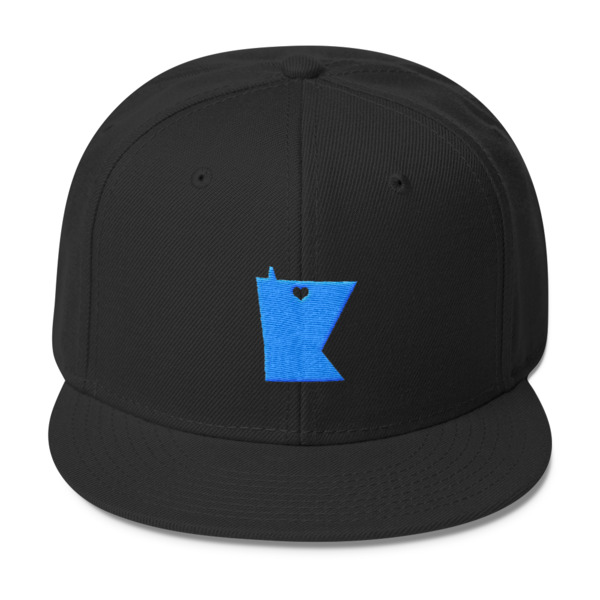 Equal Equals Love Hat Blue Logo