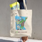 Equal Equals Love Tote Paul & Jolly