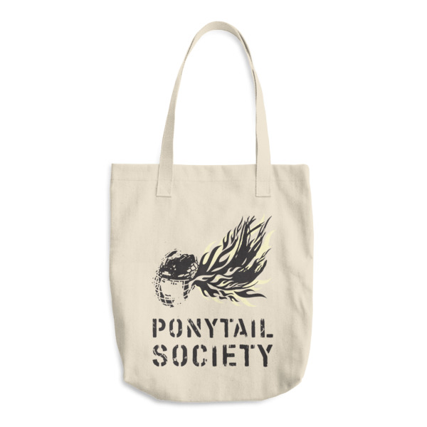 Old Time Hockey Tote Ponytail Society