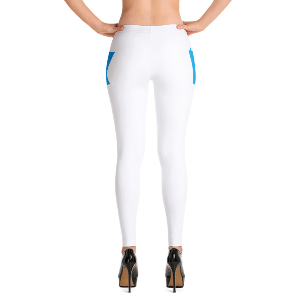 Equal Equals Love Leggings White