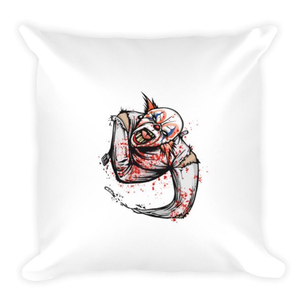 Scary Clown Pillow