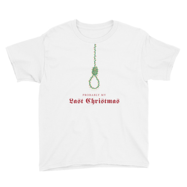 Last Christmas Tee Youth