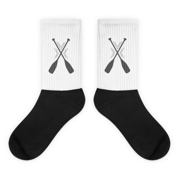 Nokomis Paddles Socks White