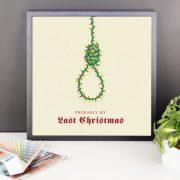 Last Christmas Poster Framed
