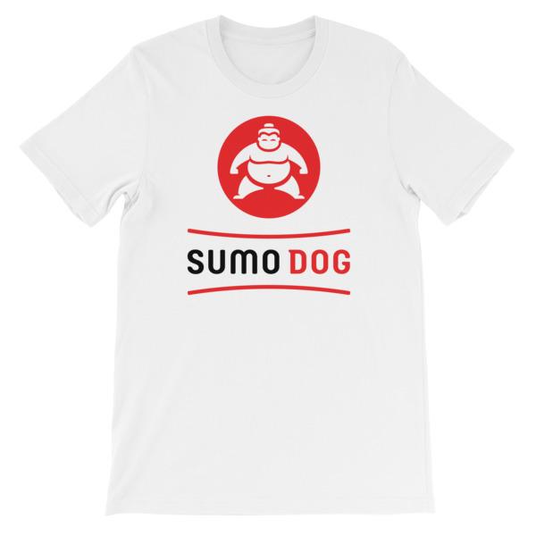 Sumo Dog Tee White