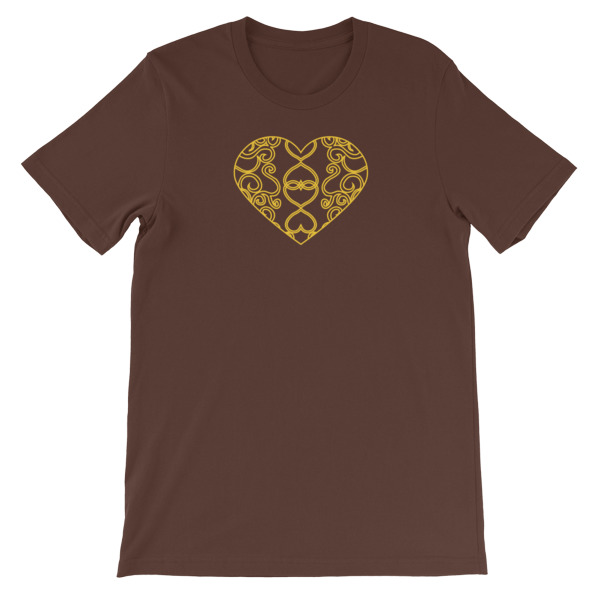 Filigree Heart Tee Dark