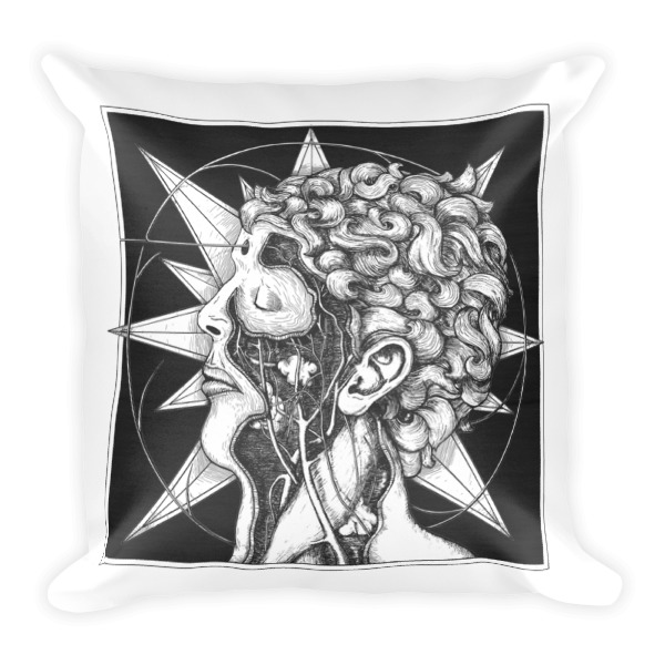Star Head and Hand Pillow