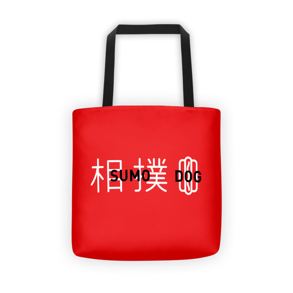 Sumo Dog Tote Red