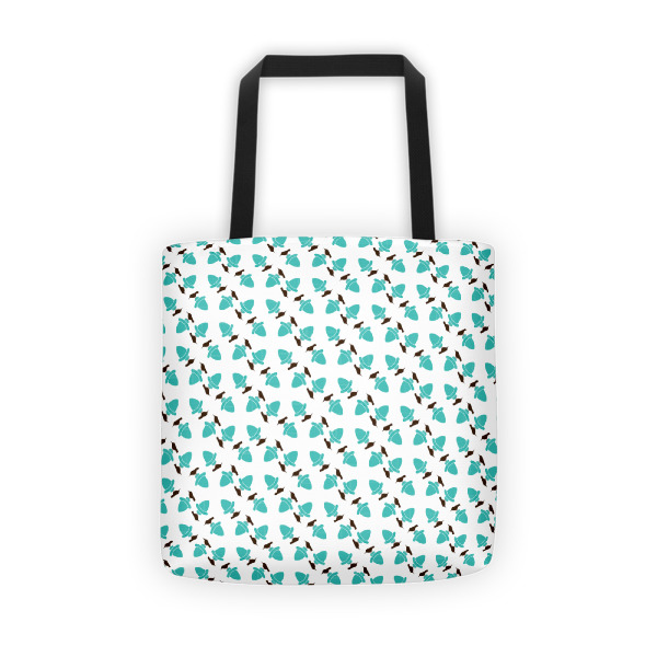 Birds & Acorns Tote