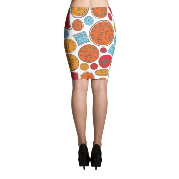 Postage Bold Skirt