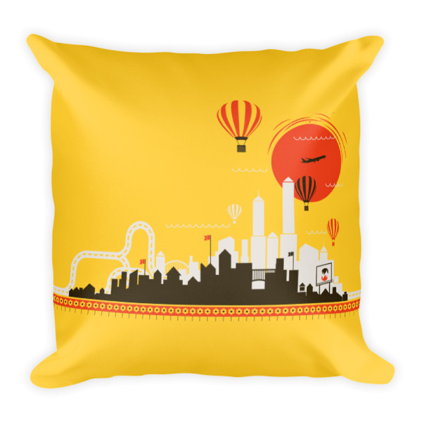 Farm to City Pillow