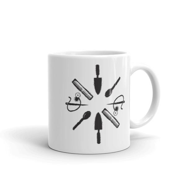 Tool Rosette Mug