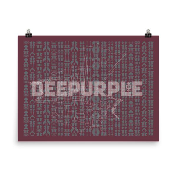 Deepurple Poster