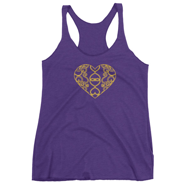 Filigree Heart Tank Women