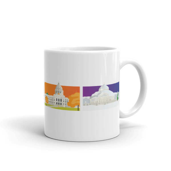 St. Paul Mug Four Seasons
