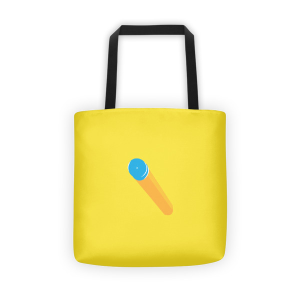 Foam Fun Tote Suction Dart Yellow