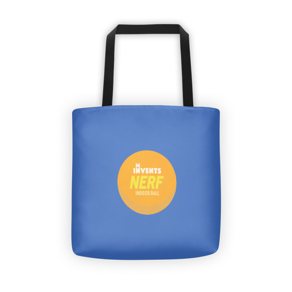 Foam Fun Tote Logo Blue