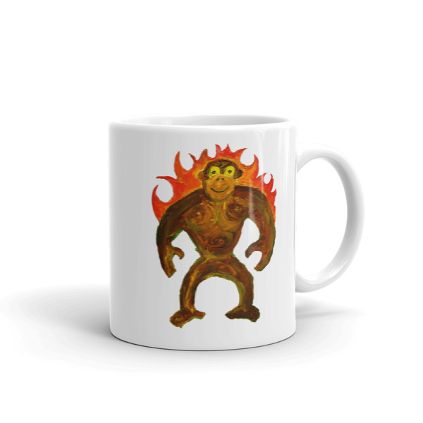 Heat Gorilla Mug