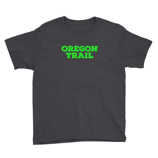 Oregon Trail Tee Youth Logo