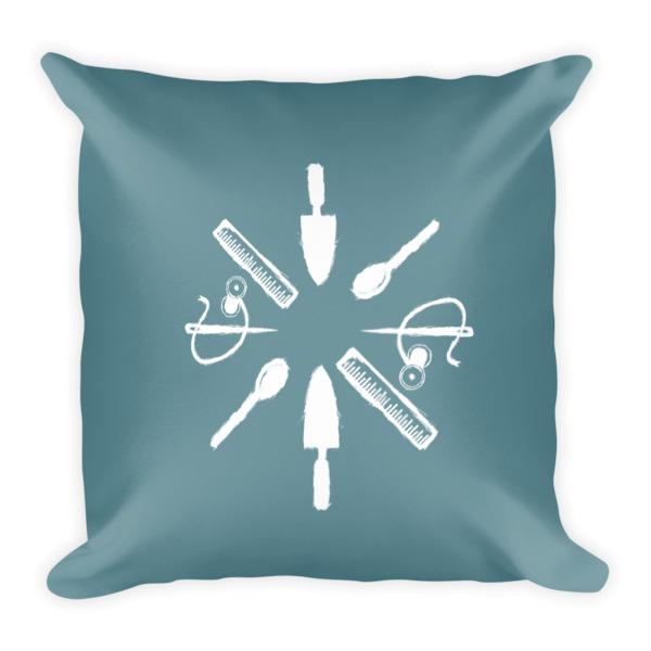 Tool Rosette Pillow