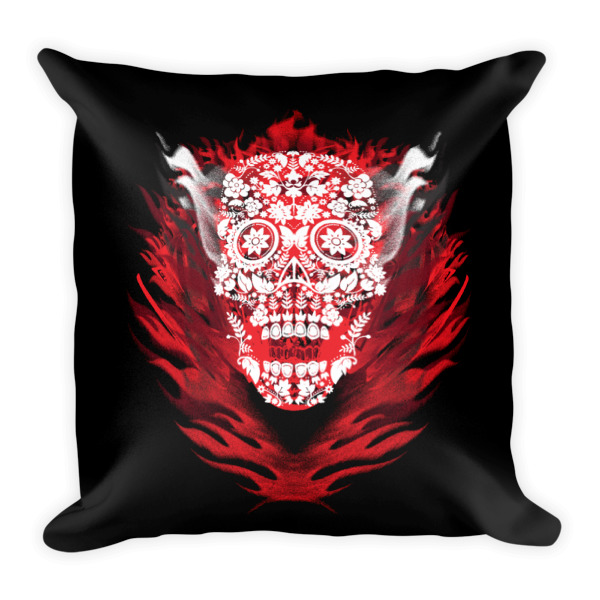 Sugar Skull Pillow