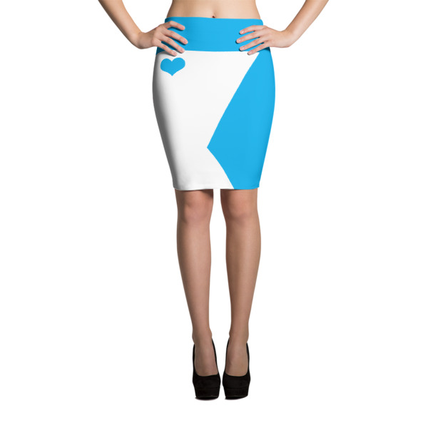 Equal Equals Love Pencil Skirt