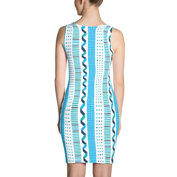 Quad Stripe Dress