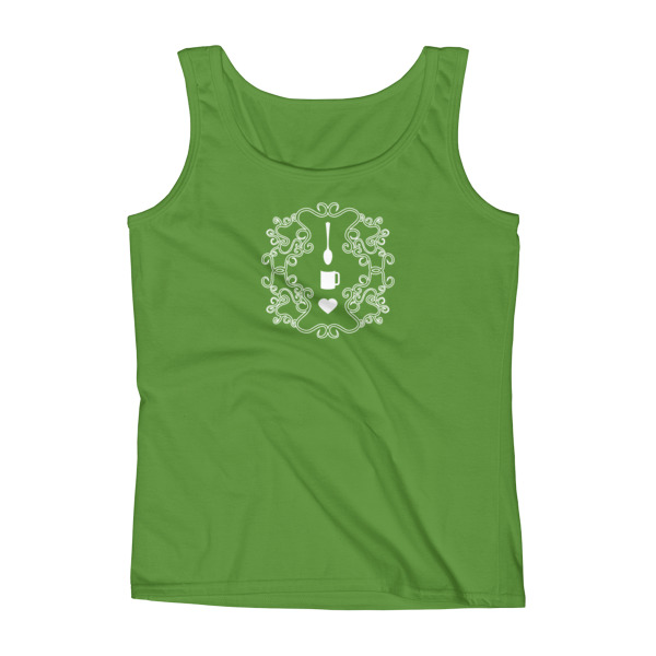 Love Coffee Emblem Tank Women