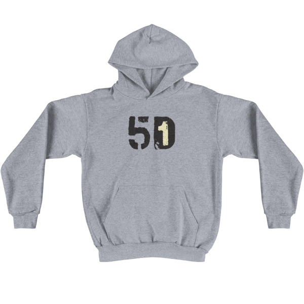 Old Time Hockey Hoodie 5D1