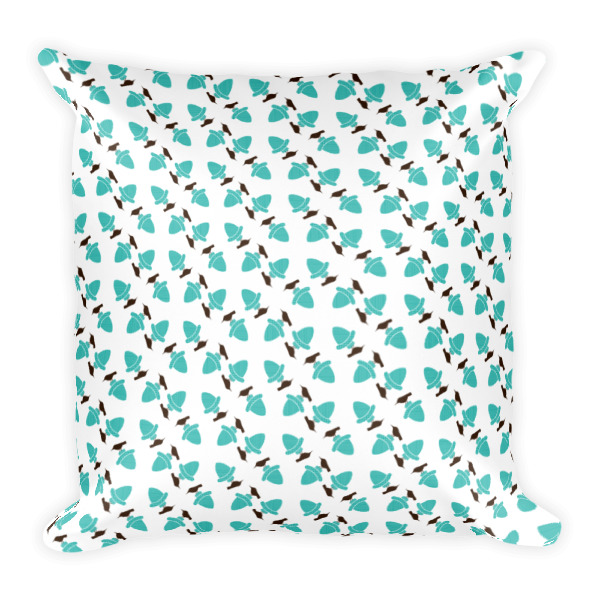 Birds & Acorns Pillow